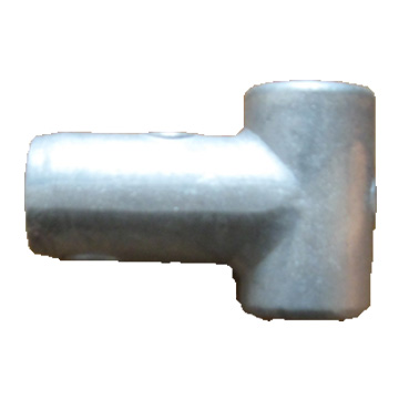 T Type Playground Rope Connector - Aluminium