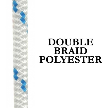 Double Braid Polyester - Yacht Rope