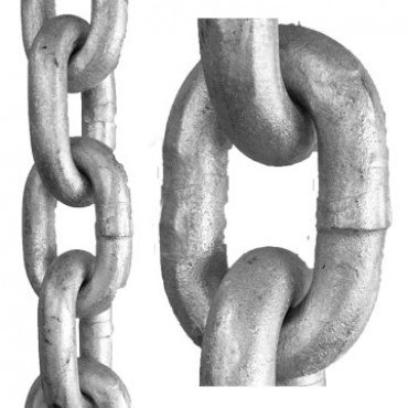 Galvanised Anchor Chain - Short Link