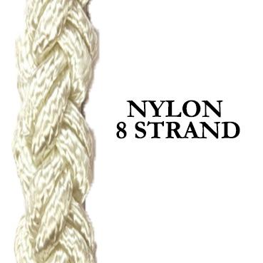 Nylon Shipping Rope – 8 Strand Hawser