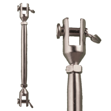 Rated Rigging Screw – Stainless Steel –Marine Grade 316