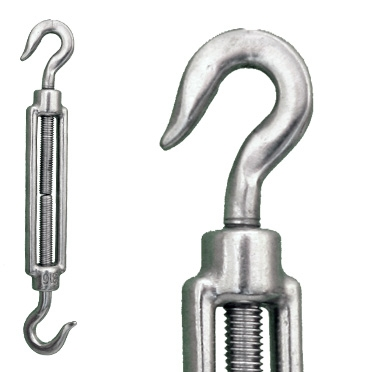 Stainless Steel Hook/Hook Turnbuckle - Commercial