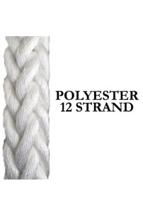 Polyester Shipping Rope – 12 Strand Hawser